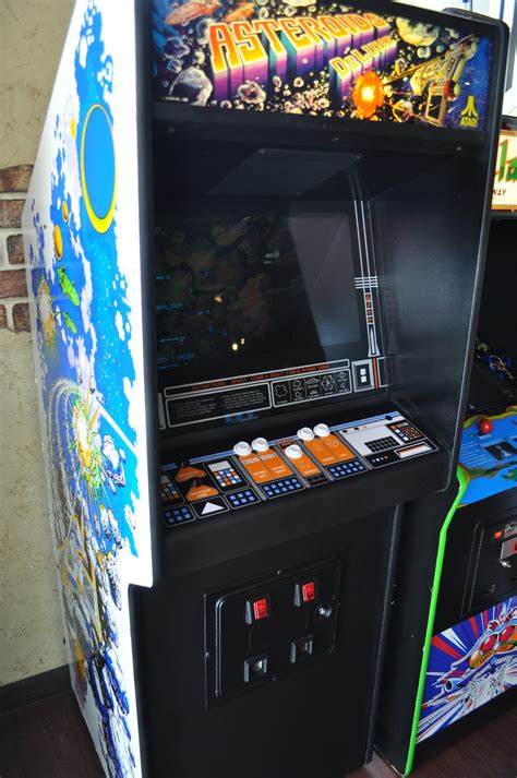 Spaceport Arcade: Asteroids Deluxe Finished