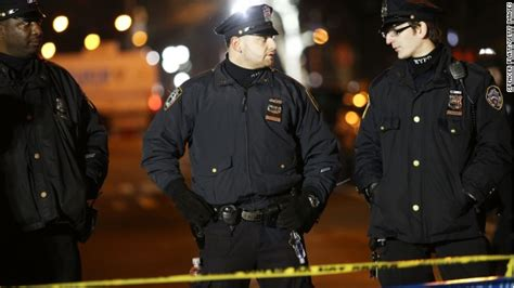 NYPD officers killed; New York ex-governor slams mayor