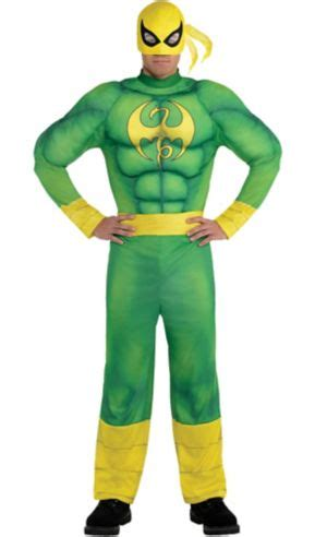 Adult Iron Fist Muscle Costume - Party City