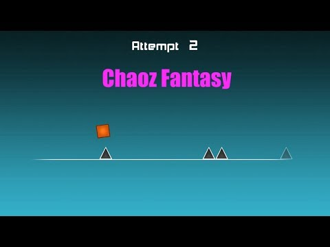 Geometry Dash First level Complete - YouTube