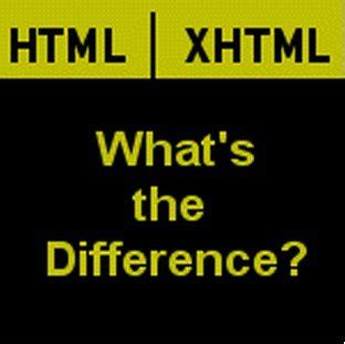 Differences Between HTML and XHTML, W3C Specifications for
