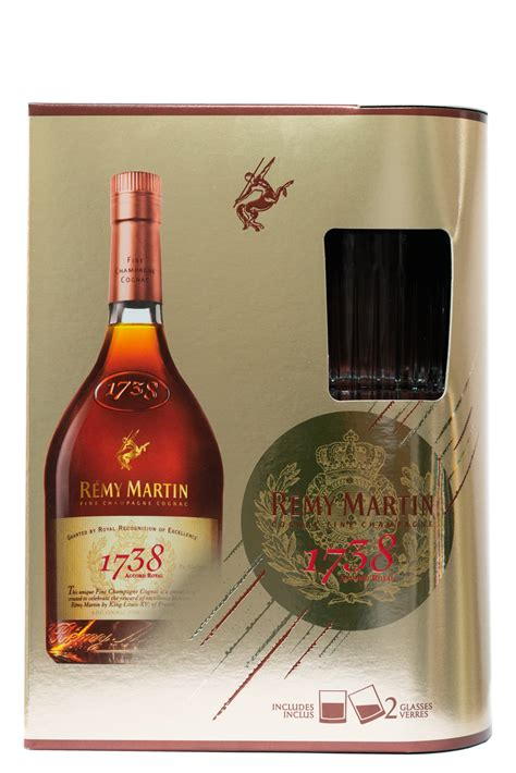 Remy Martin 1738 Accord Royal Cognac Gift Set with 2