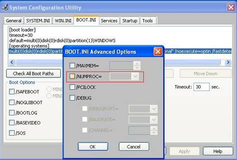 windows xp - How to enable multiple processors on XP SP 3