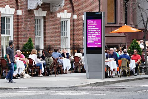 Outdoor Dining, Hair Salons to Reopen as NYC Starts Phase