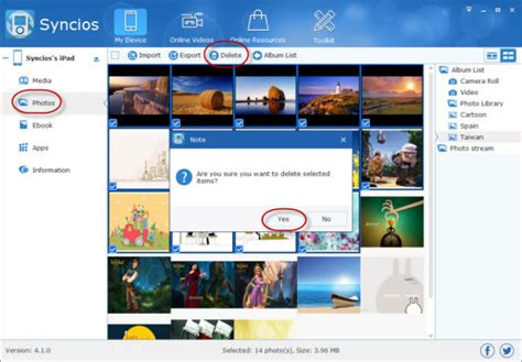 How to Delete Photos from iPad - Syncios Blog