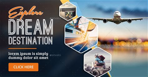 Tours & Travels Banners by Hyov   GraphicRiver