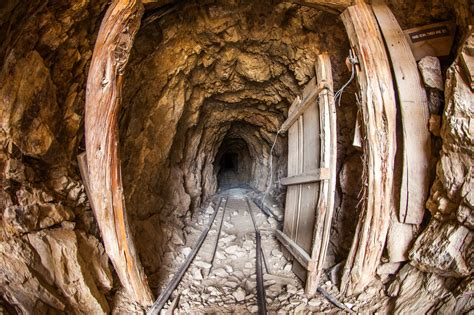What's Left Of This Deserted Mining Camp In California Is
