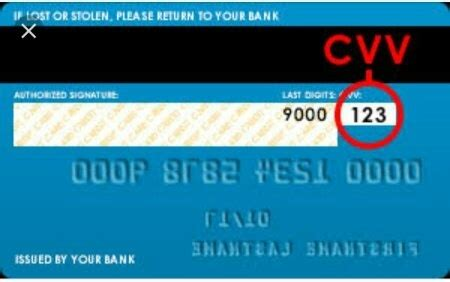 How to find my CVV card number - Quora