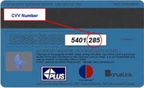 What is the CVV number on a credit card? - Quora