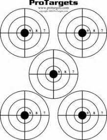 Targets - Print your own sight-in shooting targets