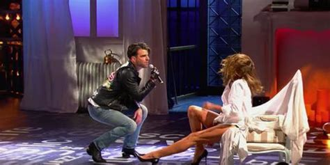 Cindy Crawford Stars in Zachary Quinto's Lip Sync Battle
