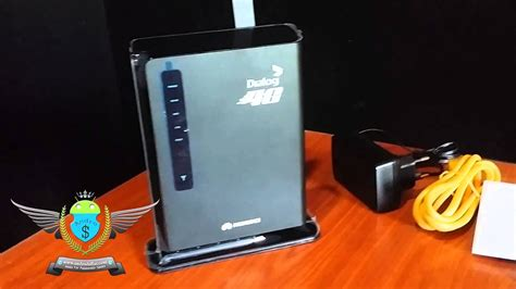 Dialog 4G Router Unboxing and Initial Impressions - YouTube