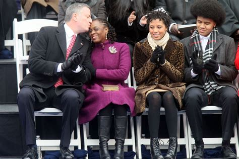 New York City's New First Lady and First Daughter Wear